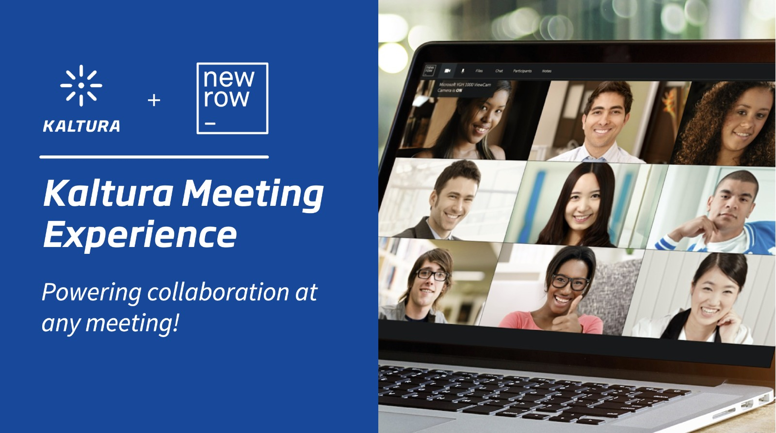 Kaltura Acquires Newrow to Deliver New Meeting Experiences
