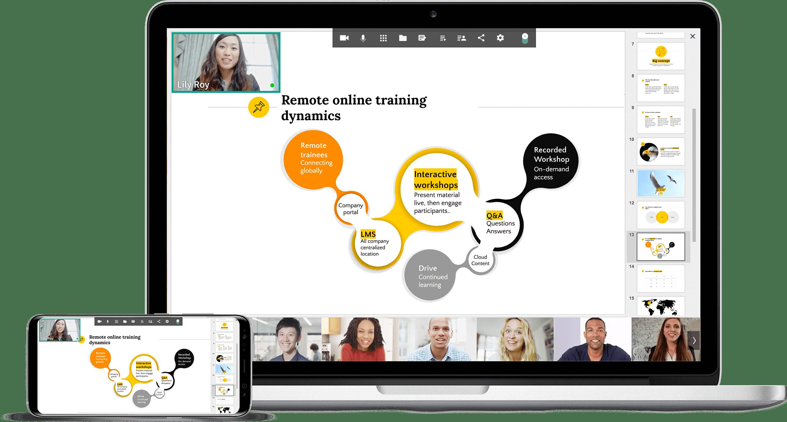 Web Based Virtual Classroom